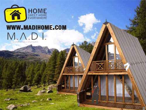 Le case prefabbricate in legno da montare in tre ore for Case prefabbricate roma prezzi