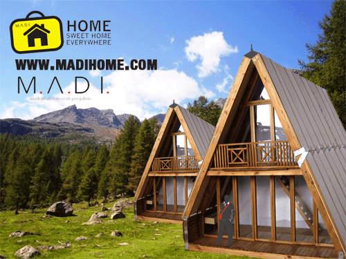 Le case prefabbricate in legno da montare in tre ore for Case prefabbricate ecosostenibili