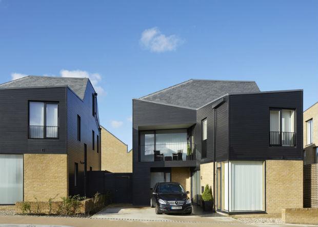 Il progetto newhall reinventa l architettura delle for Case architetti famosi