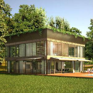 Philippe starck firma il catalogo di eco case for Strutture prefabbricate in legno
