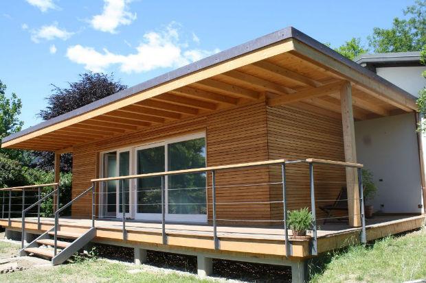 Nella provincia di varese la prima casa passiva in legno - Ampliare casa con struttura in legno ...