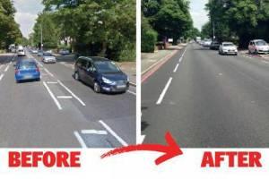 Studio TfL, rimuovere linee bianche stradali riduce velocità