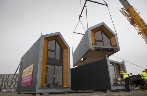 Casa Prefabbricata Legno : La mini casa prefabbricata in legno da spostare dove vuoi